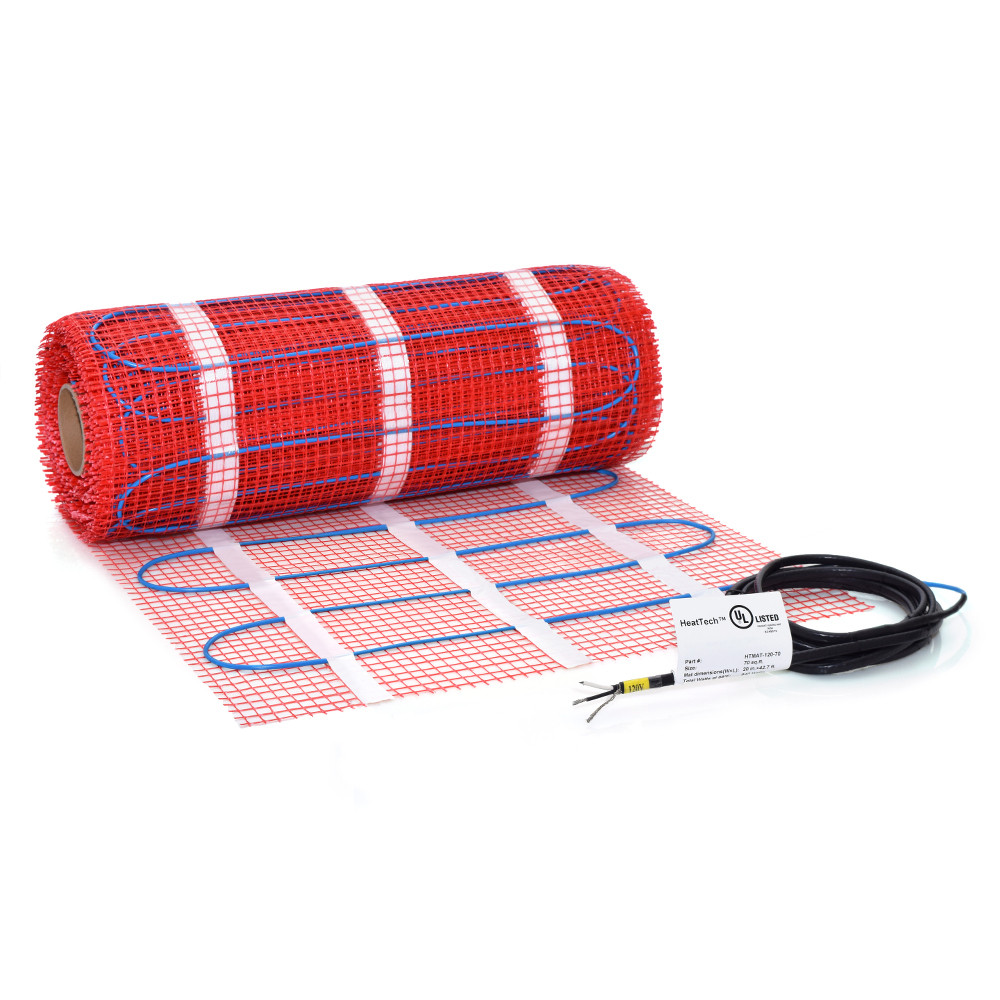 15 sqft 120V Electric Radiant Floor Heat Heating Mat